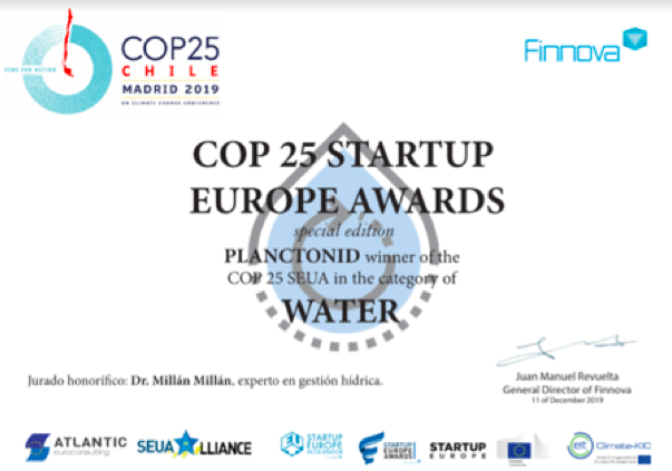 COP 25 Start-Up Europe Awards